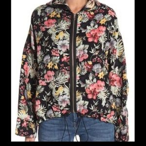 Blank NYC Floral Embroidery Summer Dreaming Jacket